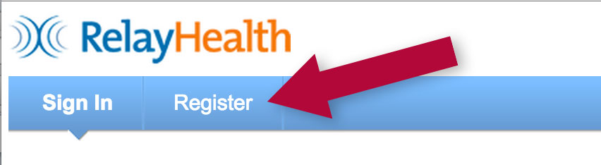 RelayHealth registration