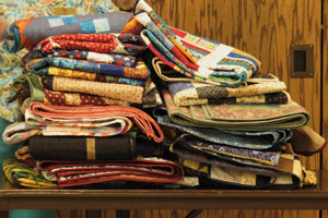 Ritzy Thimble Quilters' Guide donation.