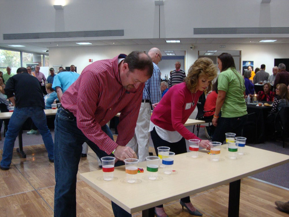The sorting game at 2016 In It To Win It