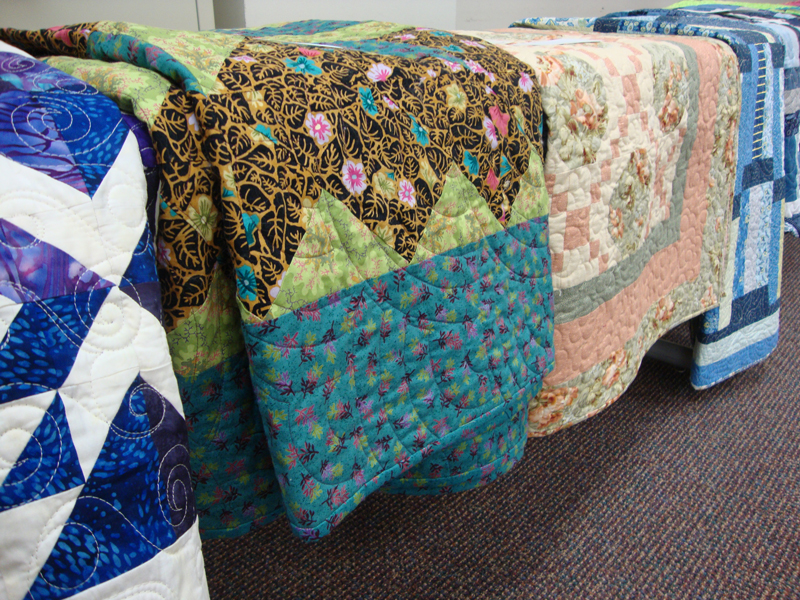row of Quilts