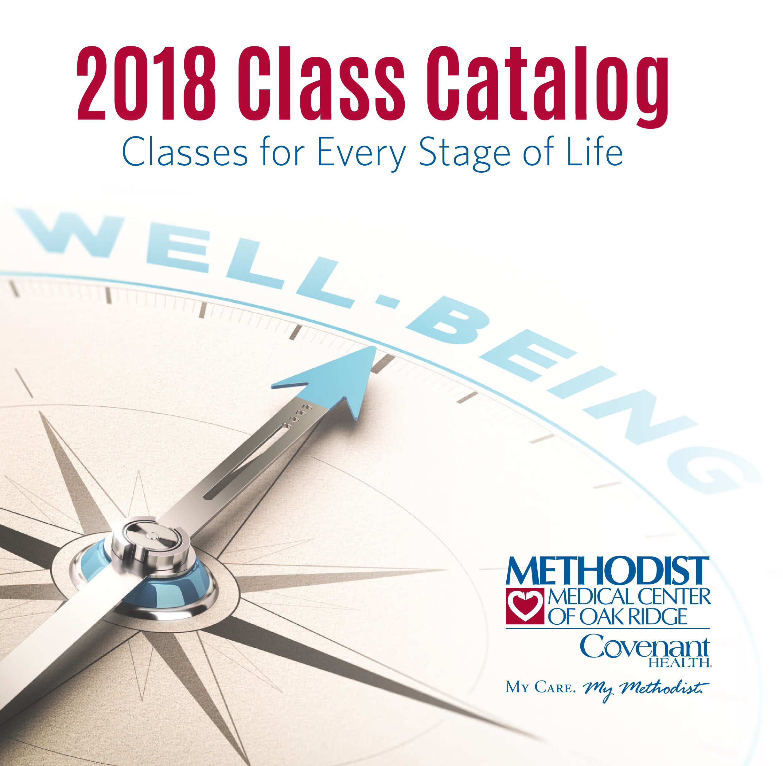 Health and wellness class offerings for every stage of life.