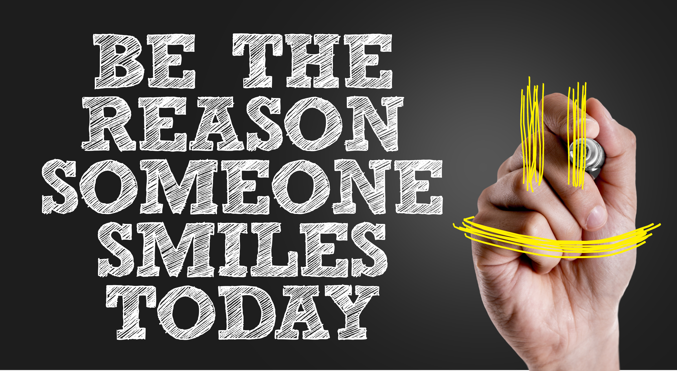 Volunteer and Be the Reason Someone Smiles Today