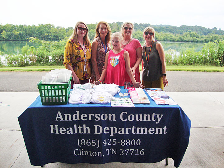 Members of the Anderson County and Roane County Health Departments