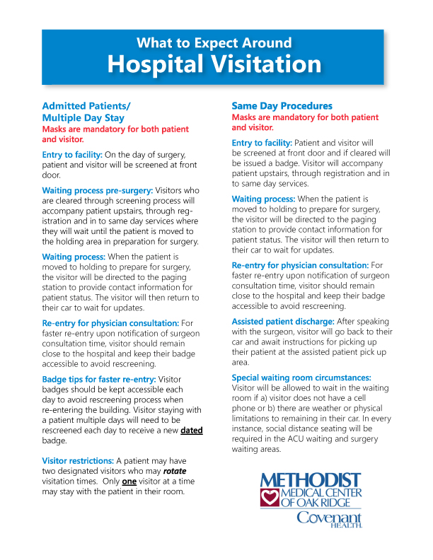 PATIENT - Phased Reopening and Visitation Guidelines - PG 4